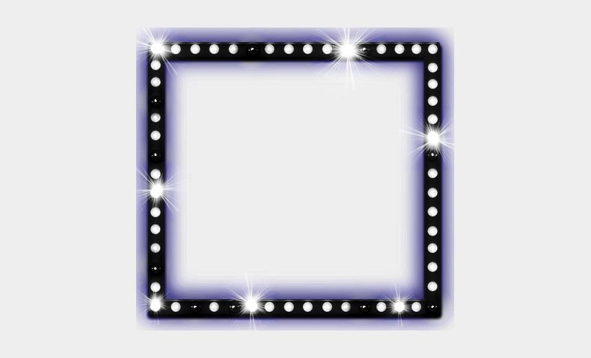 mirror frame clipart, Cartoons - #luxe #bright #frame #mirror #light #black #freetoedit - Moldura Para Fotos Roxo