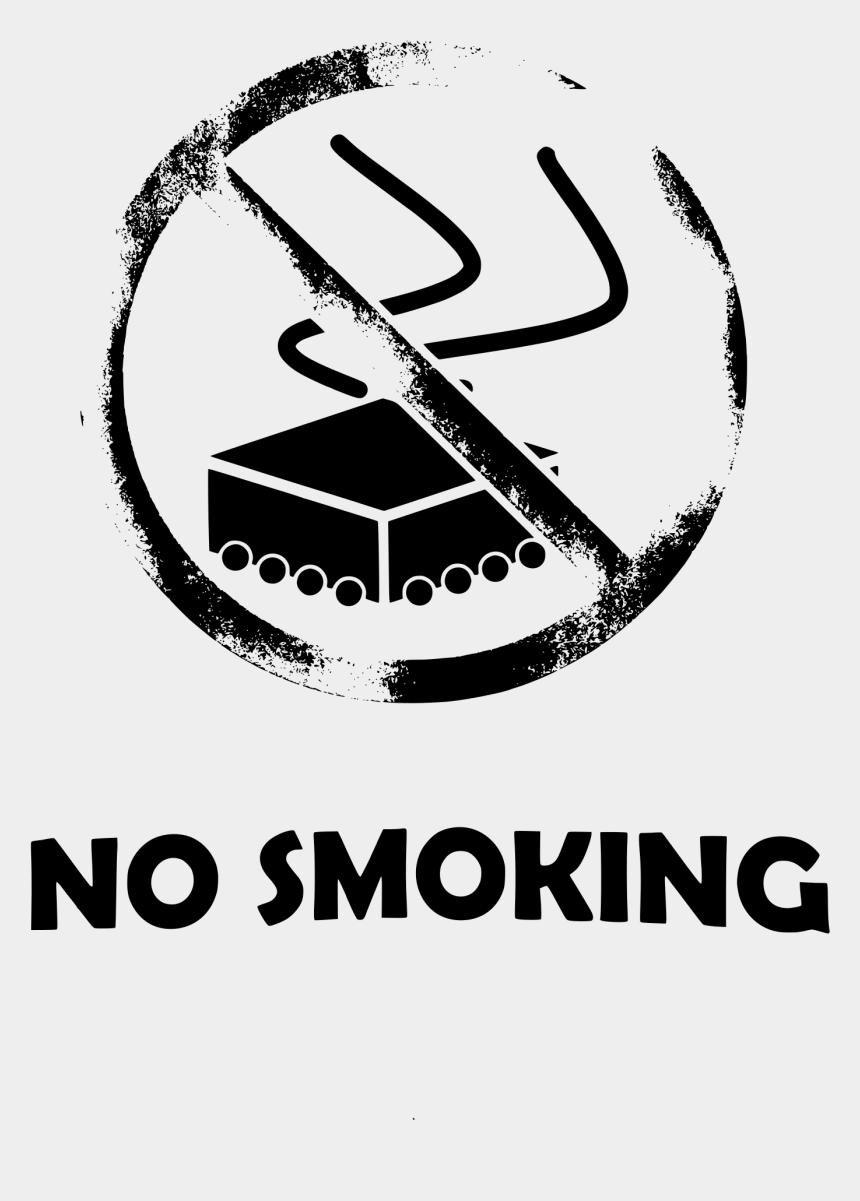 no smoking sign clipart, Cartoons - No Smoking And Smoking Area Stickers Royalty Free Vector - Smoking Png Black & White