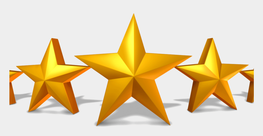 star award clipart, Cartoons - Rate 5 Stars Png