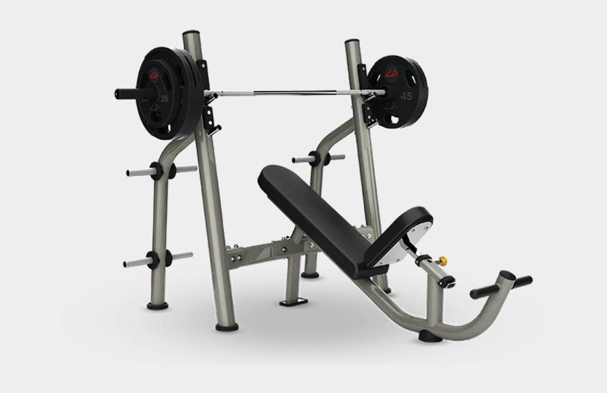 bench press clipart, Cartoons - Olympic Incline Bench - Bench Gym Equipment Matrix