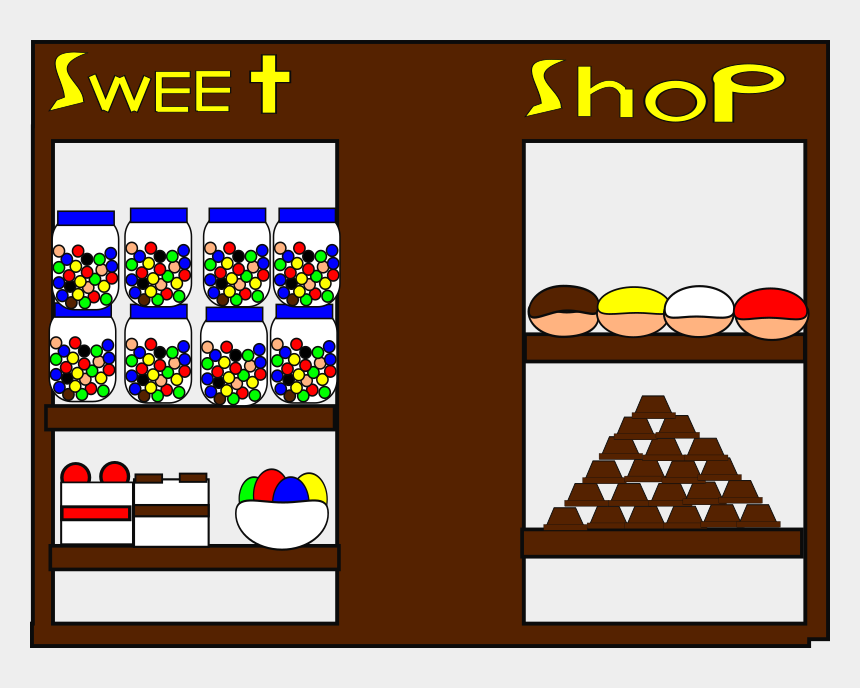 sweet shop clipart, Cartoons - Sweetshop - Clip Art Sweet Shop