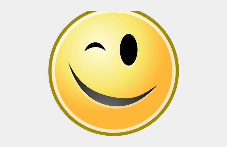 clipart of smiley, Cartoons - Smile Clipart Smiley Face - Wink Face