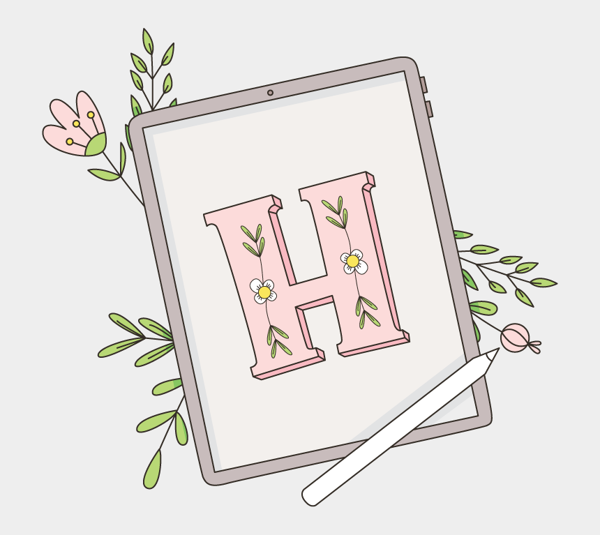 how to create digital clipart, Cartoons - How To Use Procreate To Create Stickers For Goodnotes