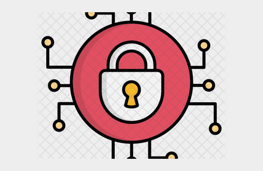 network design clipart, Cartoons - Cyber Security Icon Png