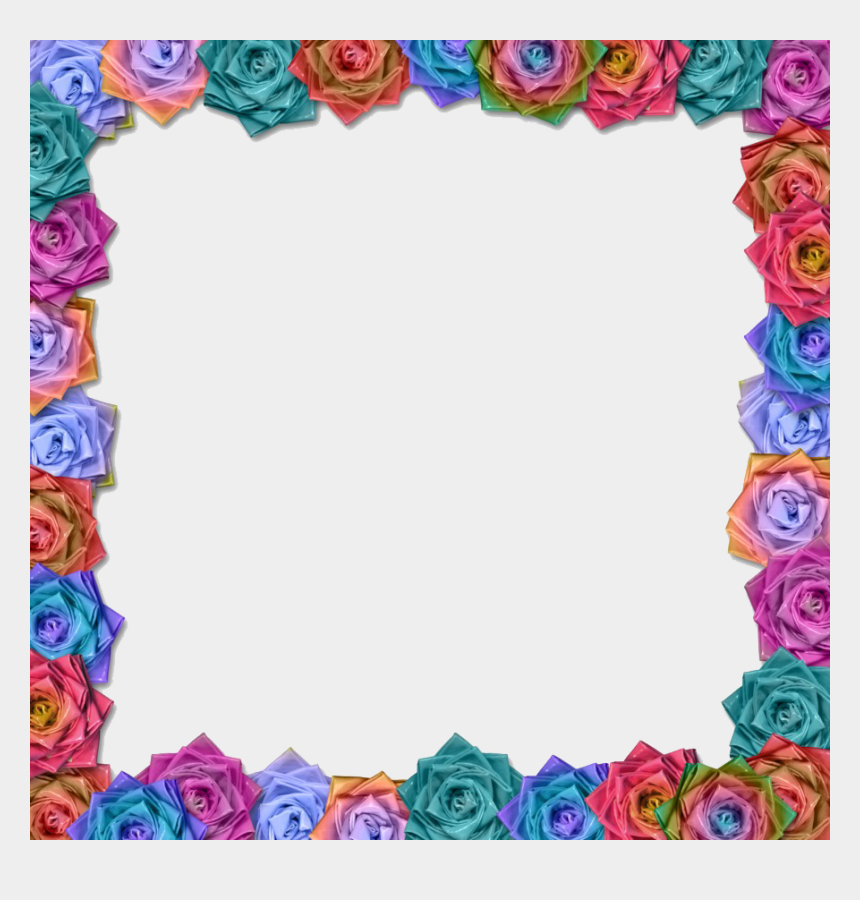flower border design clipart, Cartoons - Design Frame Flower Border