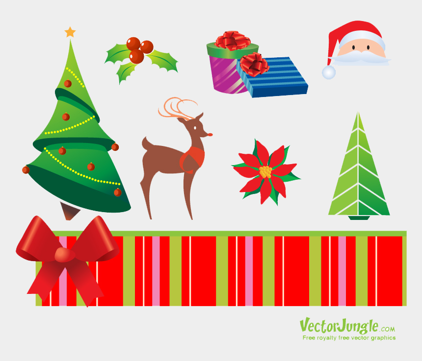 christmas divider clipart, Cartoons - Christmas Elements Png Free Download - Christmas Vectors Royalty Free