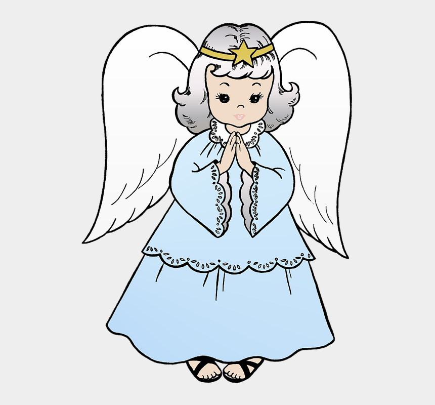 free christmas angel clipart, Cartoons - Christmas Angel Christmas Angel Blue - Bible Coloring Pages Angel