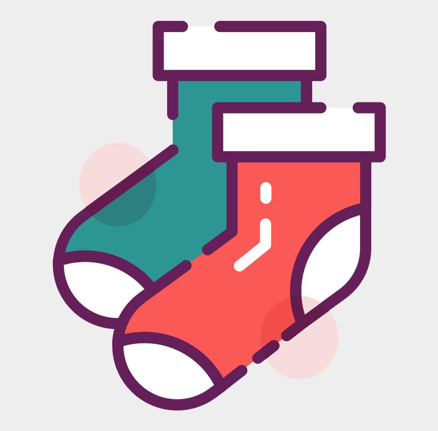 free christmas stocking clipart, Cartoons - Festive Christmas Stockings Clip Art - Trigger
