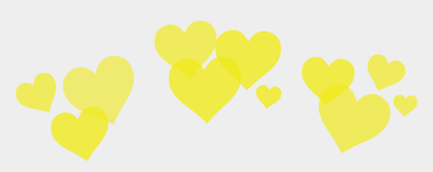 yellow heart clipart, Cartoons - Crown Tumblr Png - Heart Crown Yellow Png