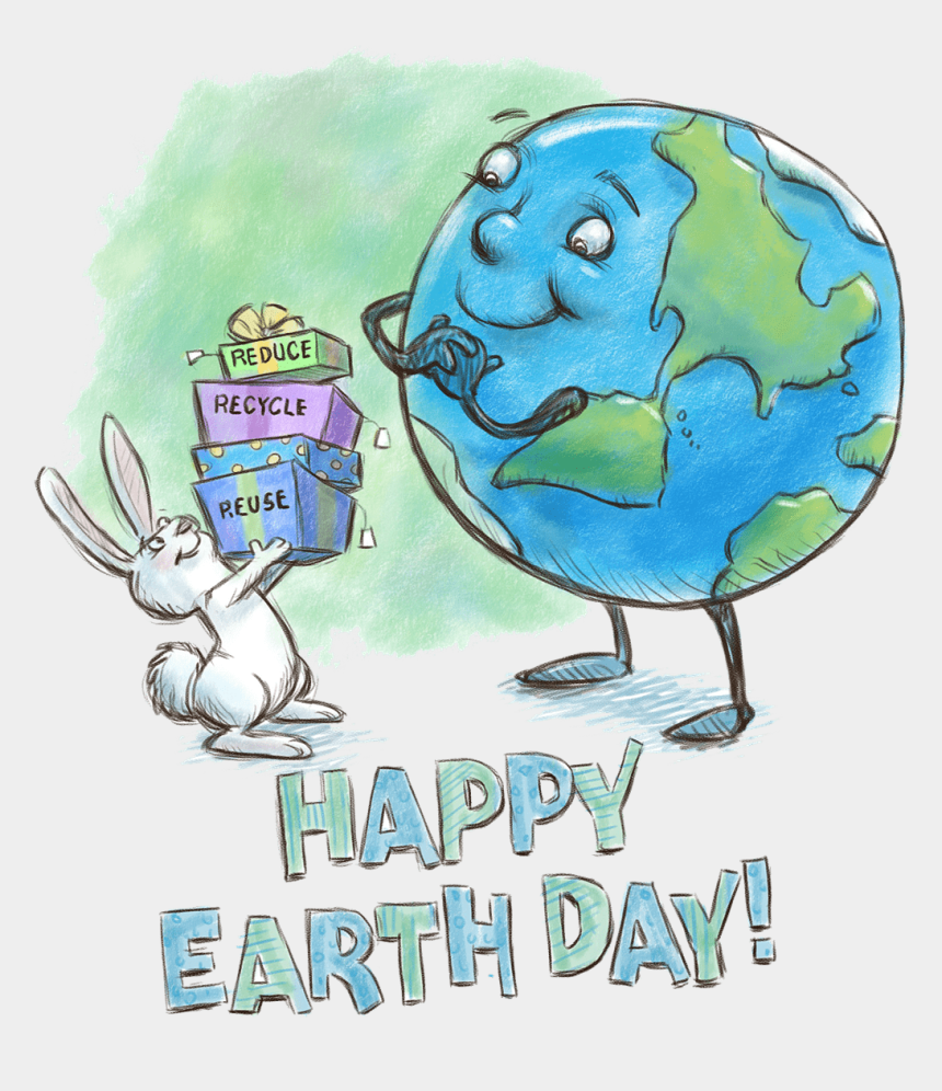 happy earth day clipart, Cartoons - Sketches Of Earth Day