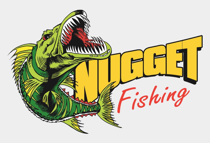 family fun day clipart, Cartoons - Nugget Fishing