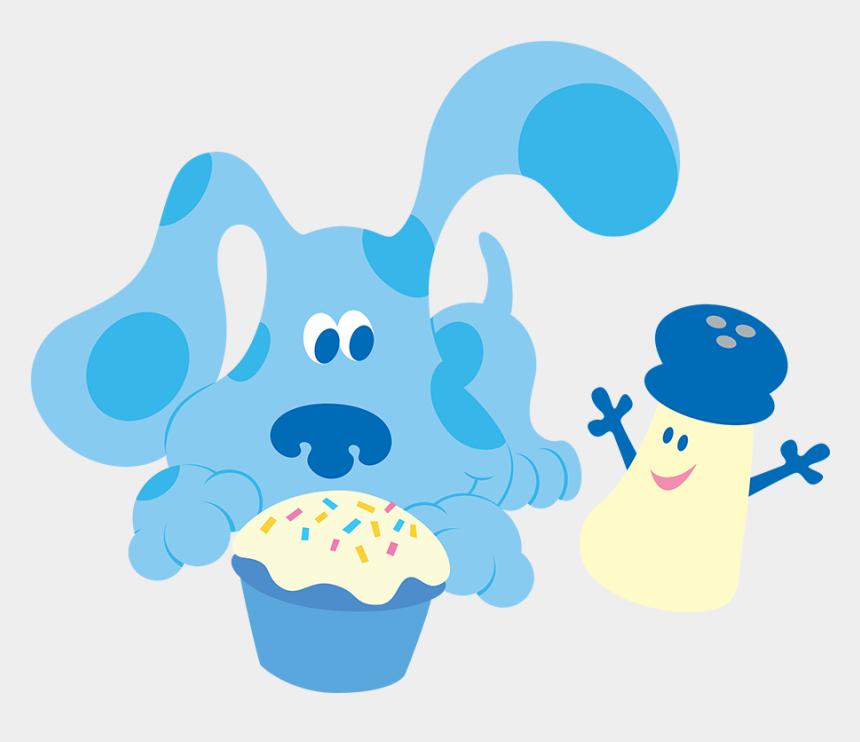 blues clues clipart, Cartoons - Characters Main Characters Blues Clues, Smurfs, Salt, - Blue's Clues Las Pistas De Blue Png