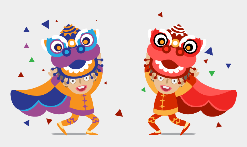 happy eyes clipart, Cartoons - Red Eyes Clipart Festival - Lion Dance Vector Free