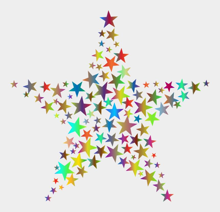 christmas tree star clipart, Cartoons - Fractal Art Symmetry Christmas Tree Star - Fractal