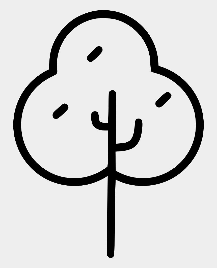 oak tree clip art, Cartoons - Line Art