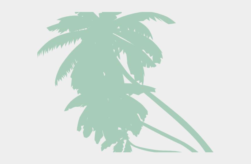 palm tree leaves clip art, Cartoons - Purple Palm Tree Png