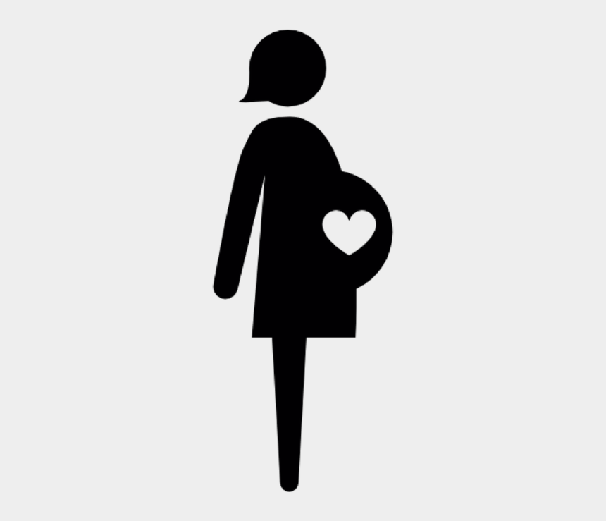 black pregnant woman clipart, Cartoons - Pregnant Woman Icon Free
