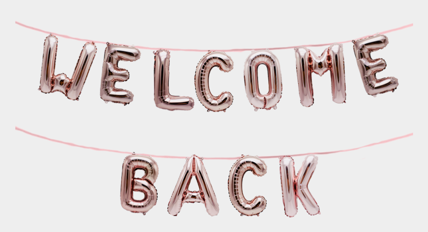 free clipart welcome back to work, Cartoons - Welcome Back Banner Png