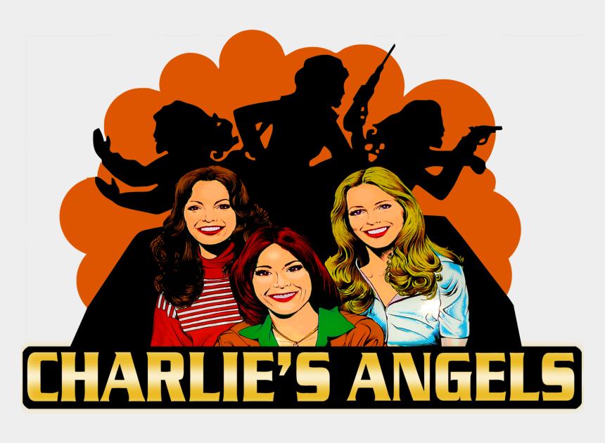 charlie s angels clip art, Cartoons - Charlie's Angels
