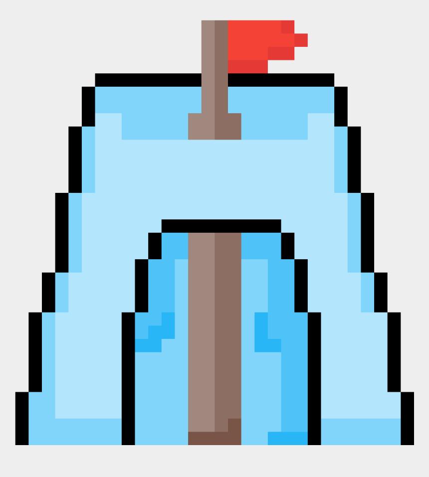 snow fort clip art, Cartoons - Traffic Cone Pixel Art