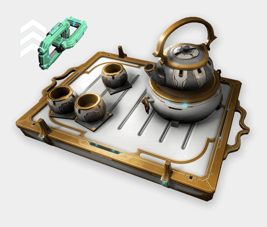 i m a little teapot clip art, Cartoons - Warframe Orokin Tea Set