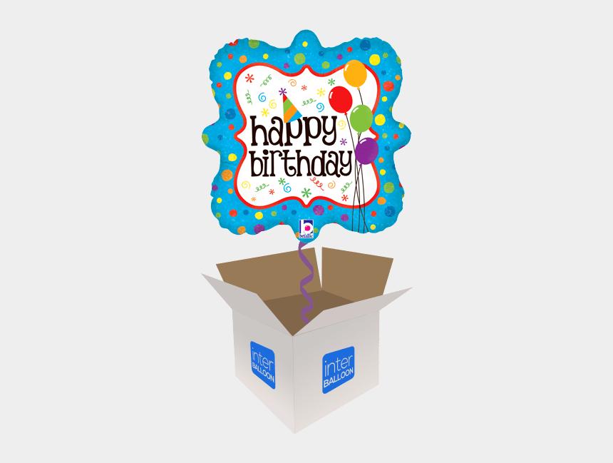 happy birthday emoji clipart, Cartoons - Happy Birthday Husband Balloons