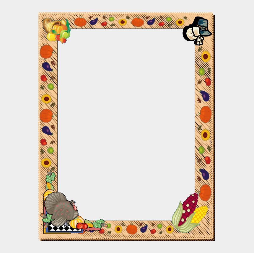 free clipart of thanksgiving, Cartoons - Thanksgiving Frame Clip Art