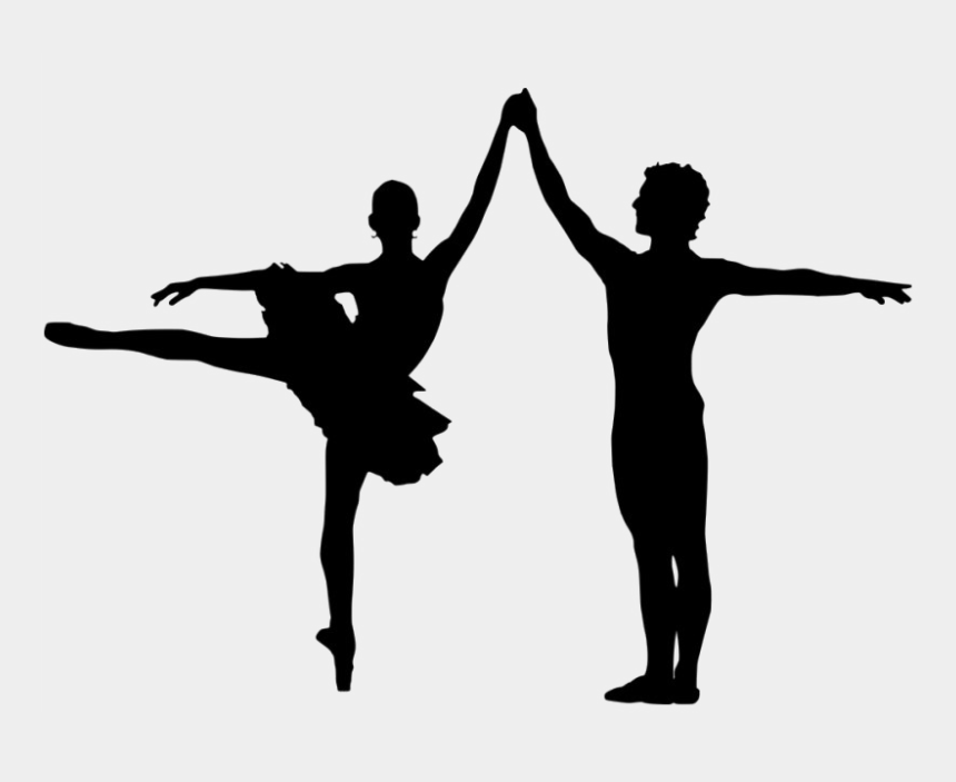 figure skating silhouette clip art, Cartoons - Male Ballet Silhouette Png