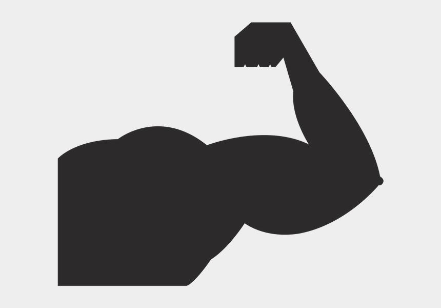 strong man silhouette clip art, Cartoons - Strong Vector
