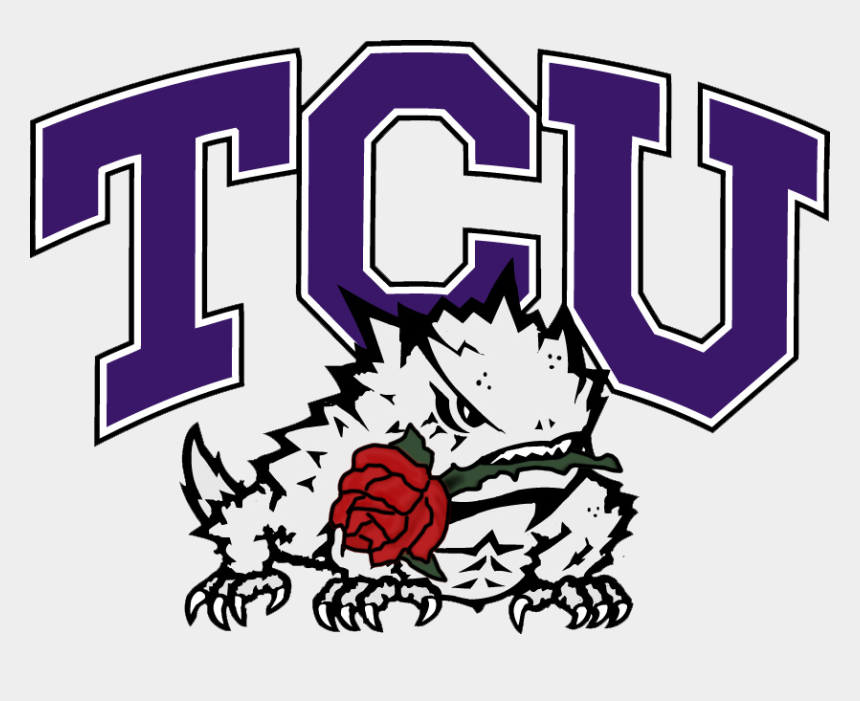 rose bowl clip art, Cartoons - Tcu Rose Bowl Logo - Texas Christian University Football Logo