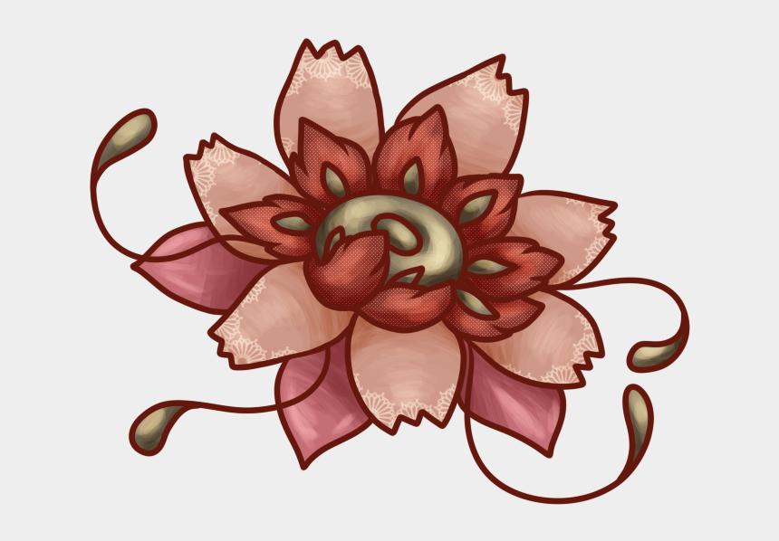 antique flower clipart, Cartoons - Illustration