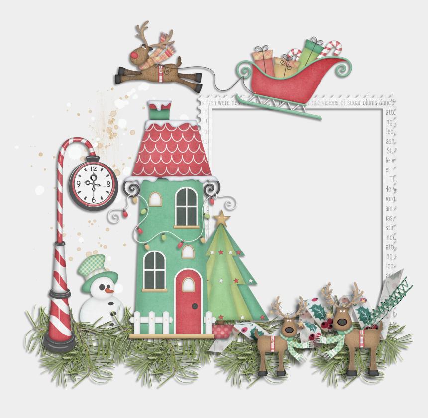 christmas digital clipart, Cartoons - Christmas Digital Clipart