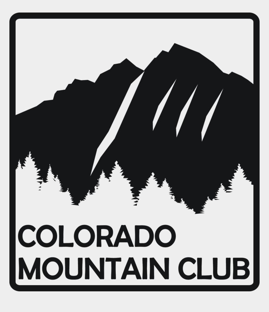 free clipart mountain climbing, Cartoons - Logo Colorado Mountain Club