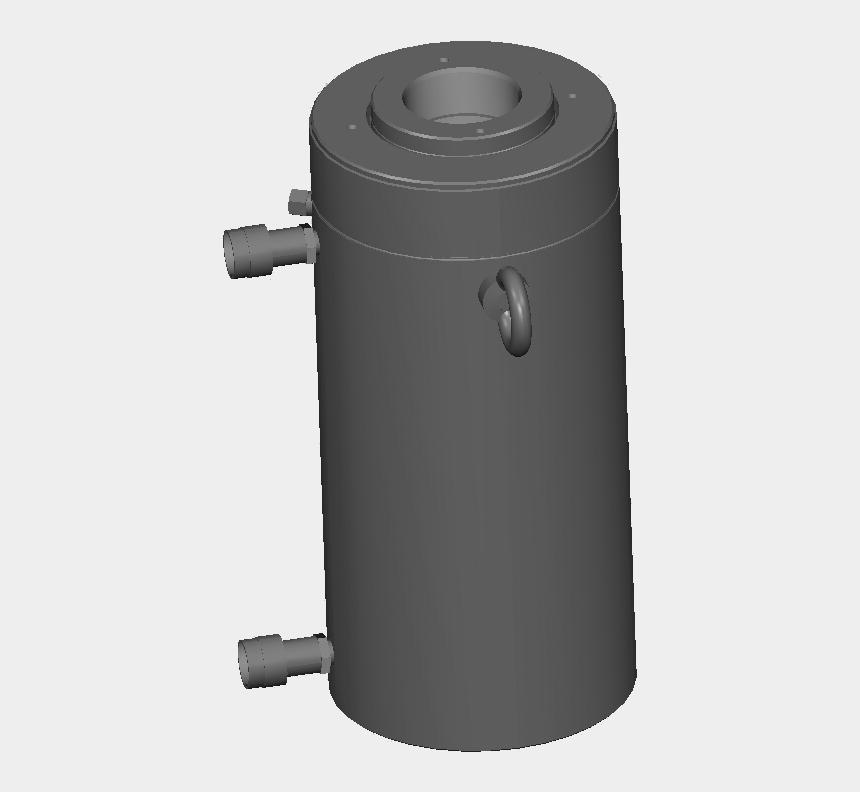 hydraulic cylinder clipart, Cartoons - Cylinder