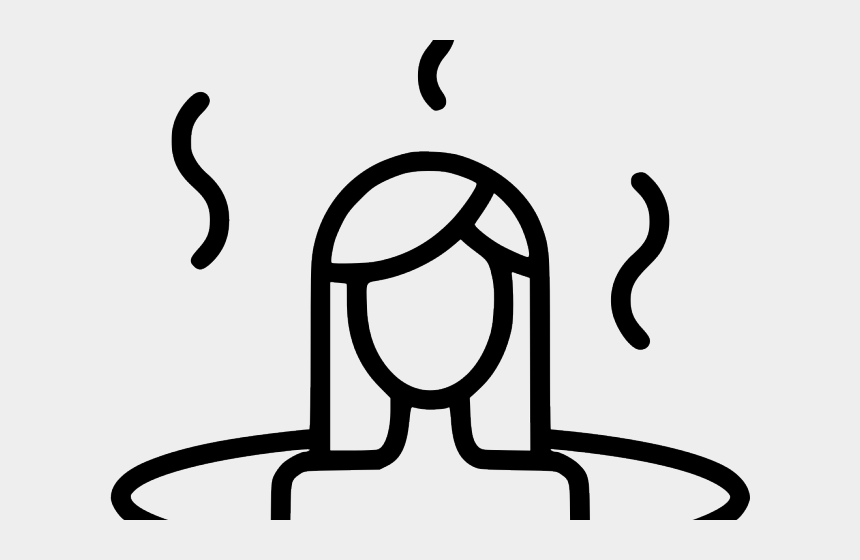 pencil line clipart, Cartoons - Steam And Sauna Free Png
