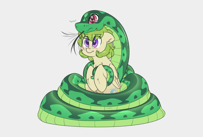 snake tongue clip art, Cartoons - Snake Pony