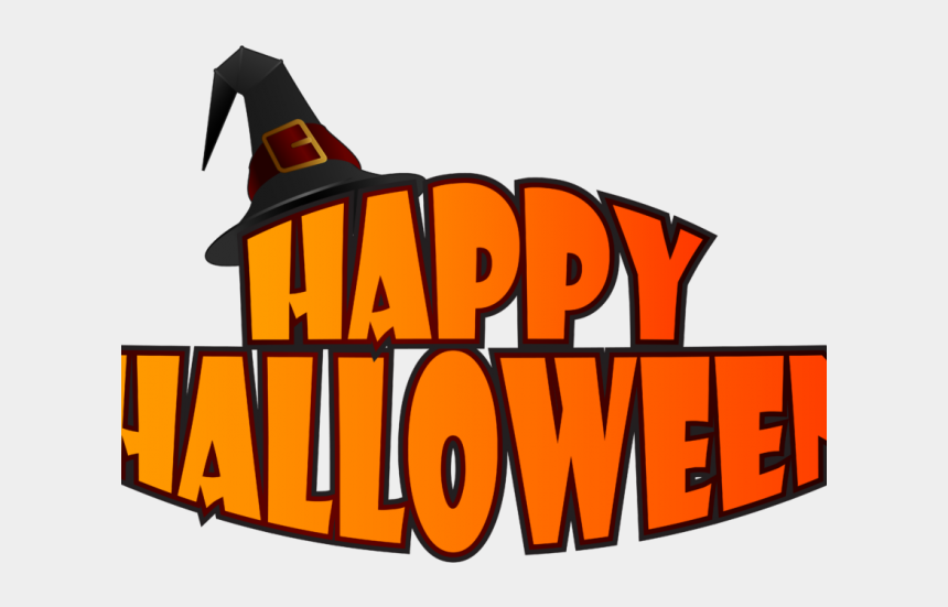 halloween word clipart, Cartoons - Clip Art