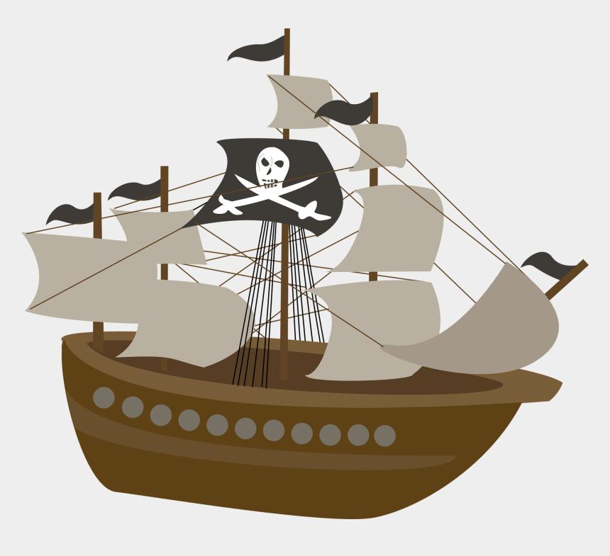 pirate dog clipart, Cartoons - Pirate Ship Transparent Background
