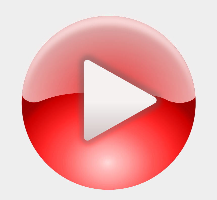 pink circle clipart, Cartoons - Play Button On Windows Media Player