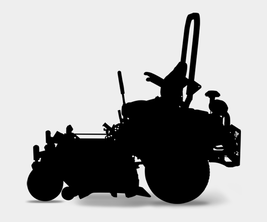 lawn mower clipart png, Cartoons - Zero Turn Silhouette