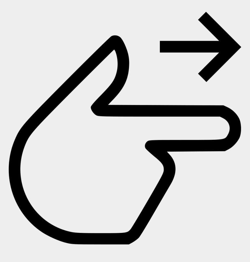 line clip art free, Cartoons - Png Finger Point