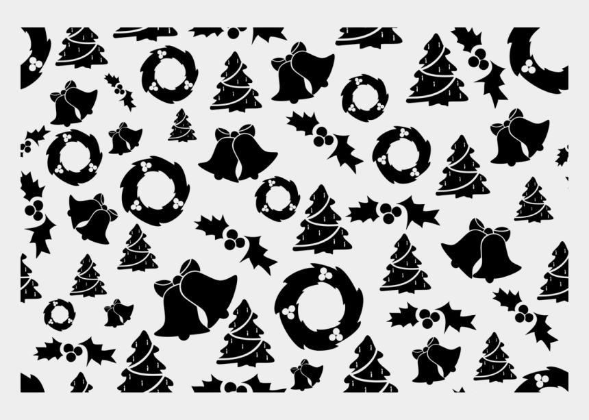 free christmas wreath clip art, Cartoons - Transparent Background Christmas Pattern Transparent