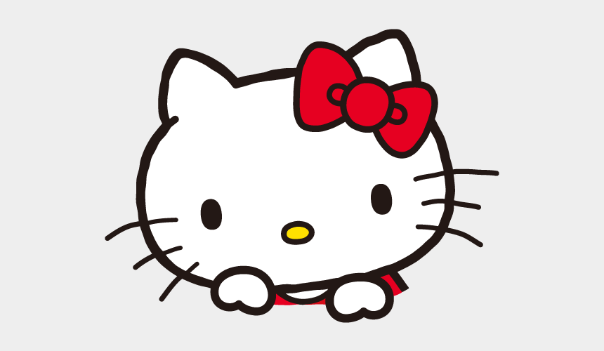hello kitty christmas clipart, Cartoons - Hello Kitty Head Png