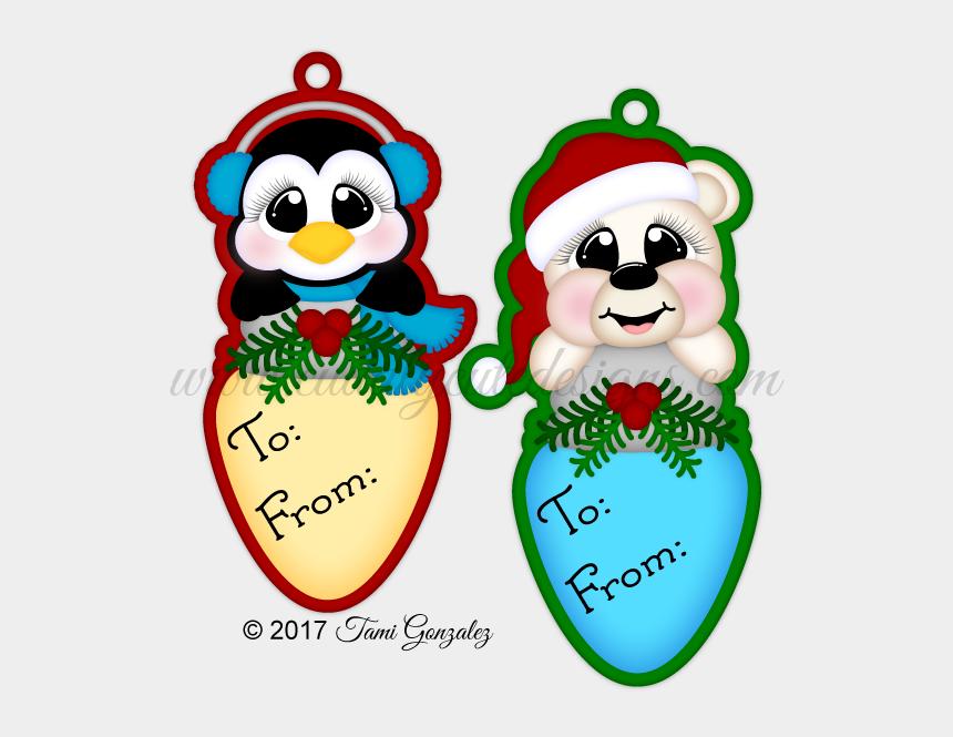 christmas light bulb clip art, Cartoons - Cartoon