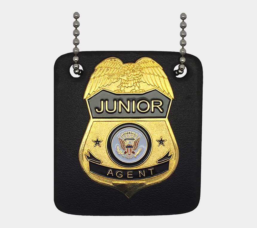 fbi badge clipart, Cartoons - Junior Special Agent Badge