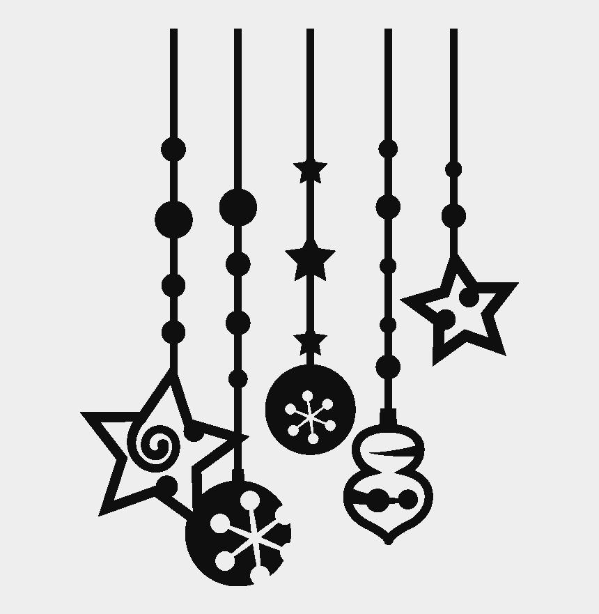 christmas decorations images clip art, Cartoons - Christmas Decorations Silhouette