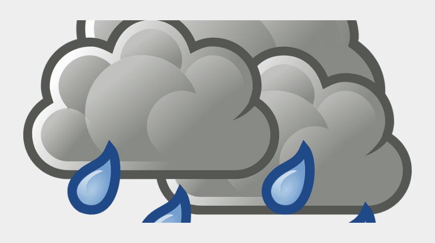 rain clipart transparent background, Cartoons - Weather Showers