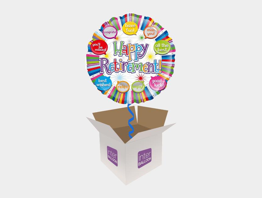 retirement party clip art, Cartoons - Happy Birthday 7th Balloons