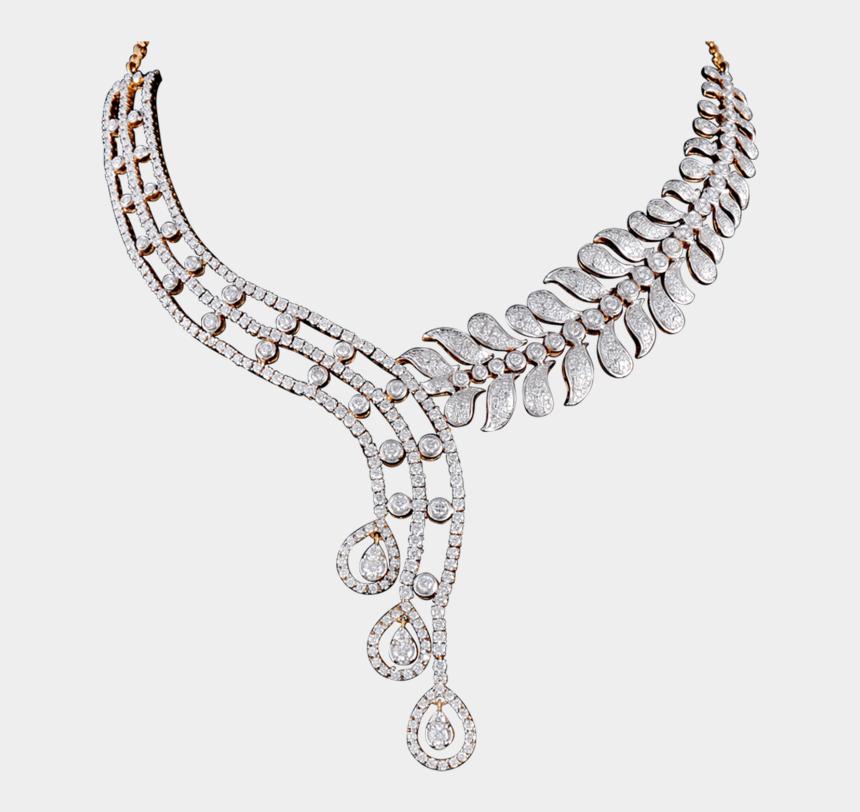 diamond clipart transparent background, Cartoons - Diamond Jewelry Necklace Png