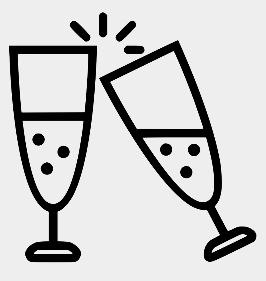free clipart champagne glasses, Cartoons - Champagne Glass Graphic Png